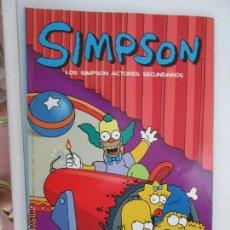 Cómics: SIMPSON , LOS SIMPSON ACTORES SECUNDARIOS MATT GROENING. COMIC BONGO.. Lote 163800694
