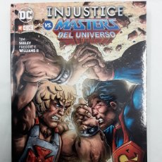 Cómics: INJUSTICE VS. MASTERS DEL UNIVERSO - SEELEY, WILLIAMS II - ECC. Lote 295463973