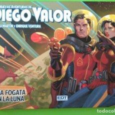 Cómics: NUEVAS AVENTURAS DE DIEGO VALOR - UNA FOGATA EN LA LUNA. Lote 163852506