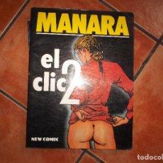 Cómics: EL CLIC -2,MILO MANARA NEW COMIC. Lote 163905450