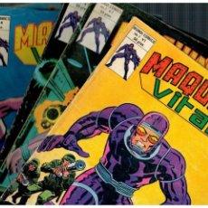 Fumetti: MAQUINA VITAL -LOTE DE 5 NºS. 1,2,3,4 Y 5- DE 6 QUE ES COMPLETA.VÉRTICE,1980.. Lote 163954190