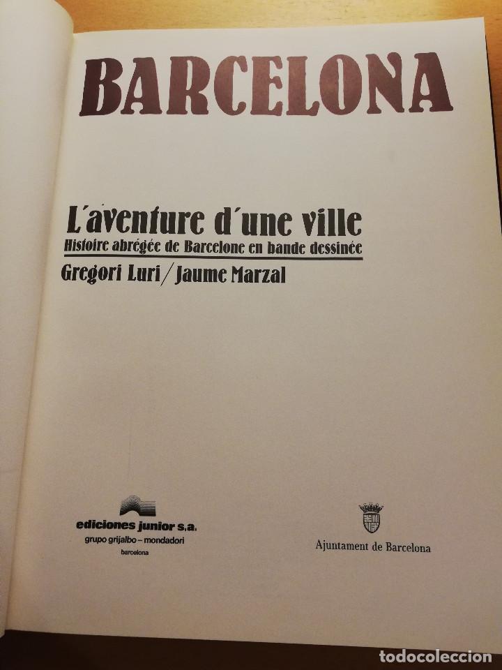 Cómics: BARCELONA. LAVENTURE DUNE VILLE. HISTOIRE ABRÉGÉE DE BARCELONE... (GREGORI LURI / JAUME MARZAL) - Foto 2 - 163984526