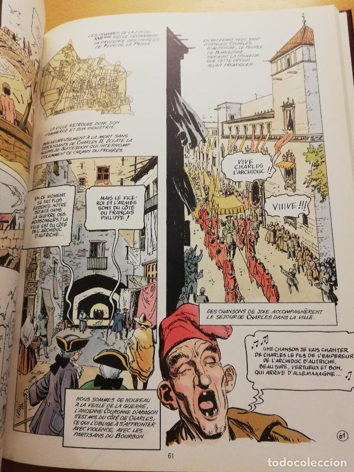 Cómics: BARCELONA. LAVENTURE DUNE VILLE. HISTOIRE ABRÉGÉE DE BARCELONE... (GREGORI LURI / JAUME MARZAL) - Foto 5 - 163984526