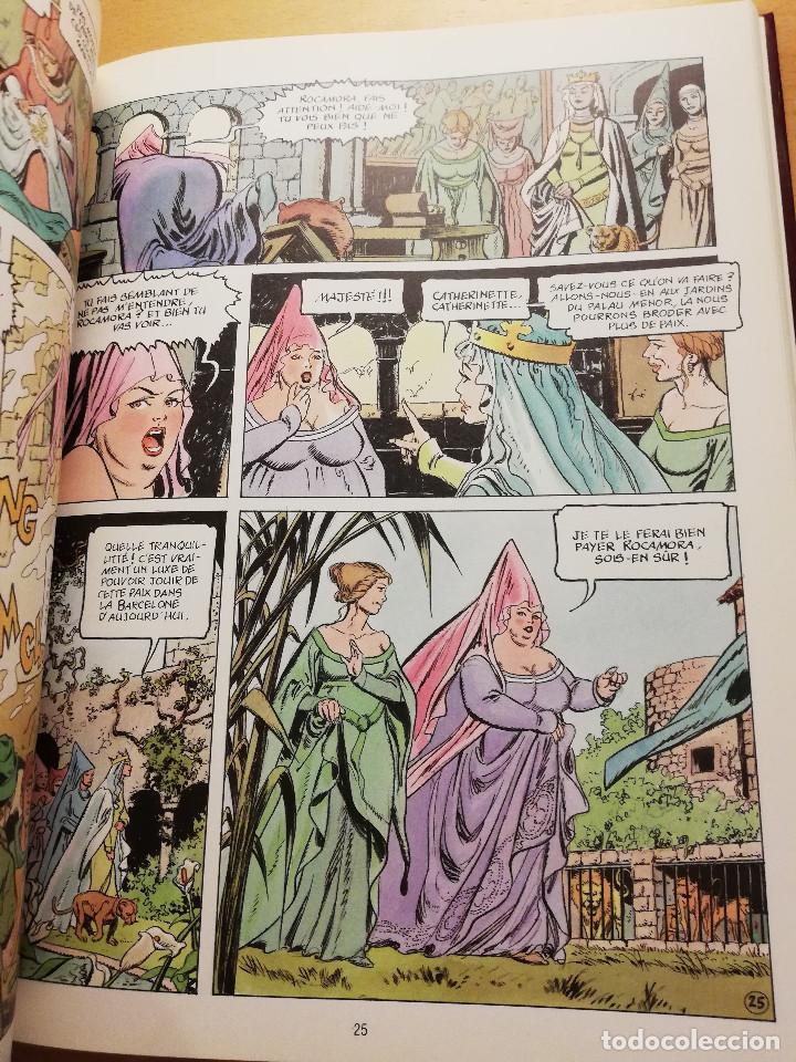 Cómics: BARCELONA. LAVENTURE DUNE VILLE. HISTOIRE ABRÉGÉE DE BARCELONE... (GREGORI LURI / JAUME MARZAL) - Foto 9 - 163984526