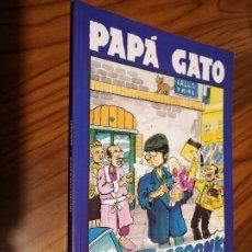 Cómics: PAPA GATO. GATO. EL BATRACIO AMARILLO. CON LOMO. RÚSTICA. BUEN ESTADO. RARO. Lote 164159790