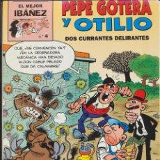 Cómics: EL MEJOR IBÁÑEZ Nº 4. PEPE GOTERA Y OTILIO. Lote 164389368