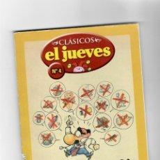 Cómics: CLÁSICOS EL JUEVES Nº4 - SEGURIDÁ SOSIÁ -SEGUNDA MANO. Lote 49787699