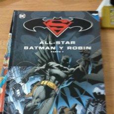Cómics: BATMAN Y SUPERMAN - TOMO ALL-STAR BATMAN Y ROBIN PARTE 1 COLECCION NOV. Lote 164541186