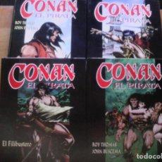 Cómics: CONAN EL PIRATA. COMPLETA. 4 TOMOS.. Lote 177397974