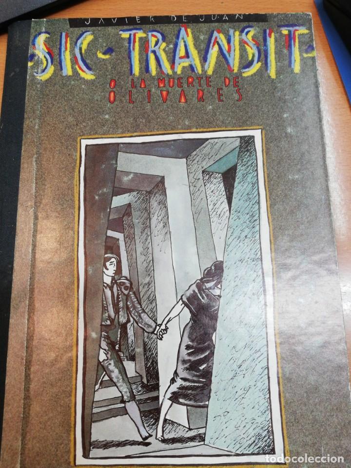 JAVIER DE JUAN. SUC-TRANSIT O LA MUERTE DE OLIVARES (Tebeos y Comics - Comics otras Editoriales Actuales)