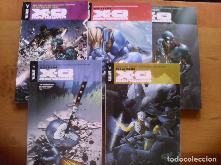 XO MANOWAR. LOTE PANINI Y ALETA (Tebeos y Comics - Comics Colecciones y Lotes Avanzados)