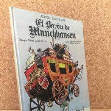 Cómics: EL BARON DE MUNCHHAUSEN - CHIQUI DE LA FUENTE - LAROUSSE - GCH. Lote 165046838