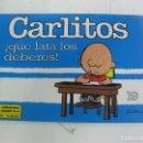 Cómics: CARLITOS ¡ QUE LATA LOS DEBERES ! Nº 19.. CHARLES M. SCHULZ. EDICIONES JUNIOR 1992. Lote 165069418