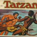 Cómics: TARZÁN, COLECCIÓN COMPLETA SON 10 TEBEOS EDICIONES B.O. DIBUJOS DE RUSS MANNINC,. Lote 165116534