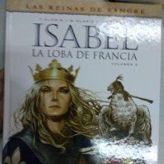 Cómics: ISABEL. LA LOBA DE FRANCIA 2 - YERMO EDICIONES. Lote 165120746