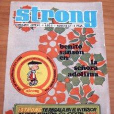 Cómics: STRONG - NÚMERO 52 - MUY BUEN ESTADO. Lote 165258290