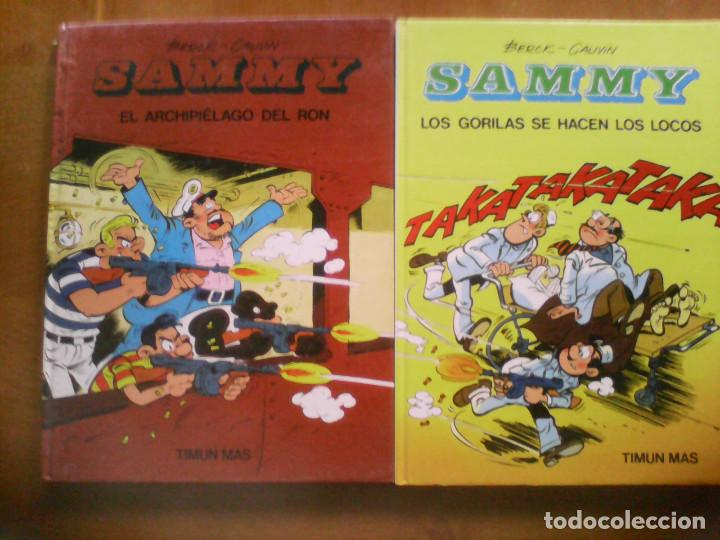 SAMMY Y LOS GORILAS. COMPLETA MÁS DOS ALBUMES ADICIONALES. (Tebeos y Comics - Comics Colecciones y Lotes Avanzados)