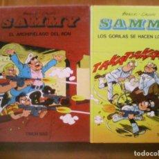 Cómics: SAMMY Y LOS GORILAS. COMPLETA MÁS DOS ALBUMES ADICIONALES.. Lote 165307958