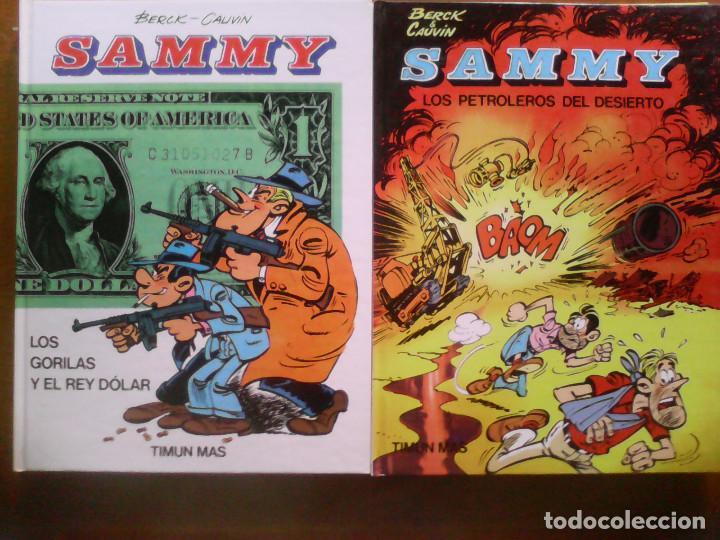 Cómics: Sammy y los Gorilas. Completa más dos albumes adicionales. - Foto 4 - 165307958
