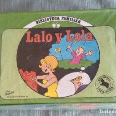 Cómics: LALO Y LOLA 1 AL 12 - BIBLIOTECA FAMILIAR EDITORIAL OVEJA NEGRA - DIK BROWNE - HI AND LOIS. Lote 179125403
