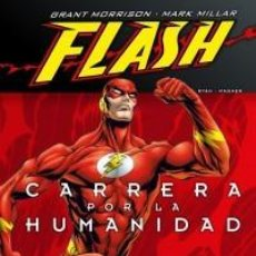 Cómics: FLASH CARRERA POR LA HUMANIDAD - ECC- CARTONE - IMPECABLE - OFF15. Lote 165429934