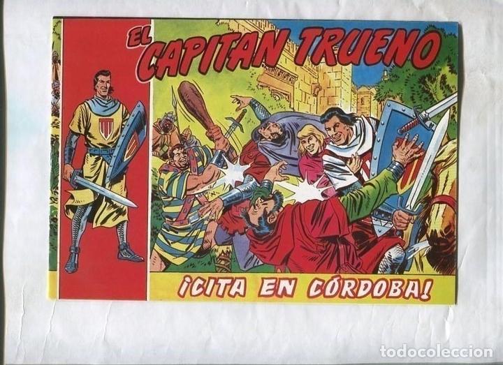 TEBEO FACSIMIL CITA EN CORDOBA DE EL CAPITAN TRUENO (Tebeos y Comics Pendientes de Clasificar)