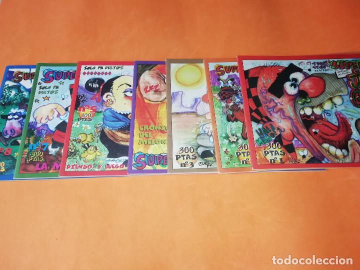 Cómics: SUPERMAÑO . SOLOPADULTOS. Nº 1,2,3,4,5,7.Y 8. EDITA INICIATIVAS. ZARAGOZA. DIFICILES. IMPECABLES - Foto 2 - 165498922