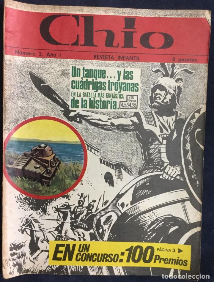 Cómics: CHIO REVISTA INFANTIL 6 comics año 1 - Foto 3 - 165596022