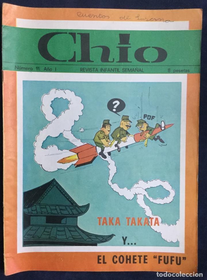 Cómics: CHIO REVISTA INFANTIL 6 comics año 1 - Foto 4 - 165596022