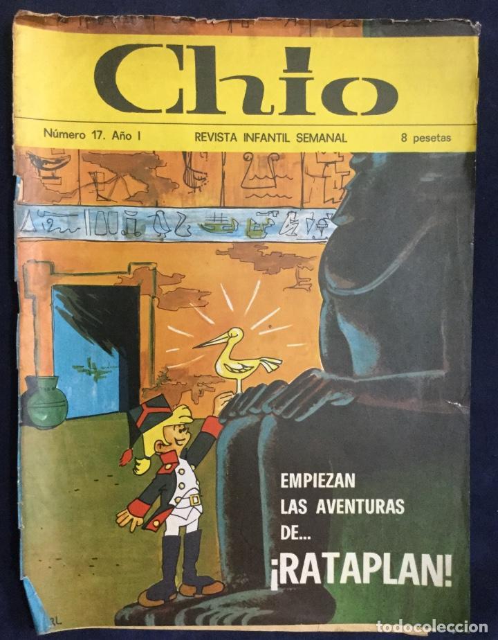 Cómics: CHIO REVISTA INFANTIL 6 comics año 1 - Foto 5 - 165596022
