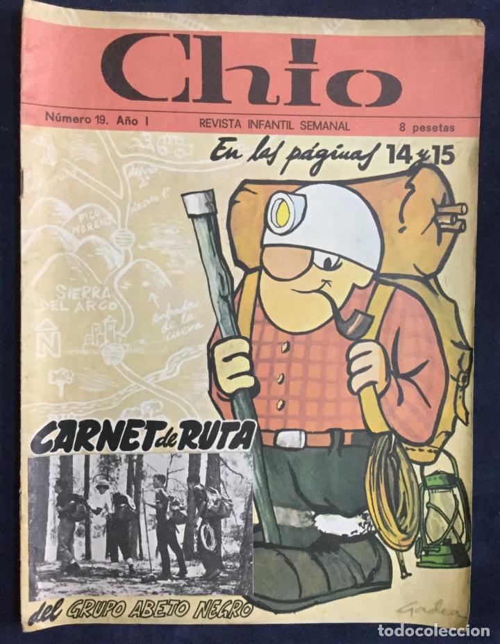 Cómics: CHIO REVISTA INFANTIL 6 comics año 1 - Foto 6 - 165596022