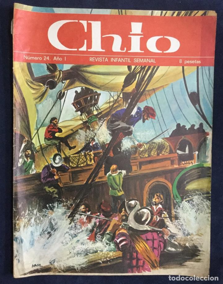 Cómics: CHIO REVISTA INFANTIL 6 comics año 1 - Foto 7 - 165596022