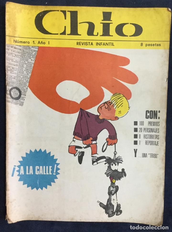 CHIO REVISTA INFANTIL 6 COMICS AÑO 1 (Tebeos y Comics Pendientes de Clasificar)