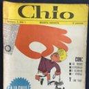 Cómics: CHIO REVISTA INFANTIL 6 COMICS AÑO 1. Lote 165596022