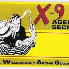 Cómics: X - 9 AGENTE SECRETO Nº 2 . Lote 165605222
