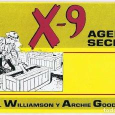 Cómics: X - 9 AGENTE SECRETO Nº 3. Lote 165605790