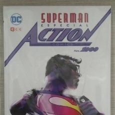 Cómics: SUPERMAN ESPECIAL ACTION COMICS NÚMERO 1000 TOMO ÚNICO CARTONE 152 PÁGINAS (ECC). Lote 165648878