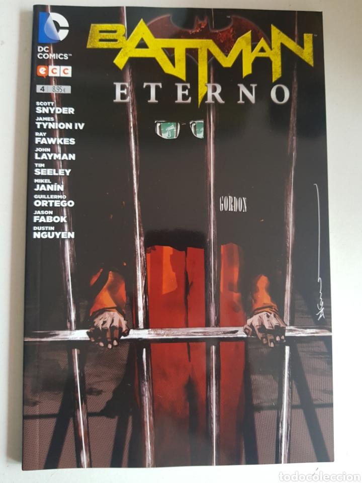Cómics: BATMAN ETERNO NUMEROS 4 Y 5 DC COMICS - Foto 2 - 165754240