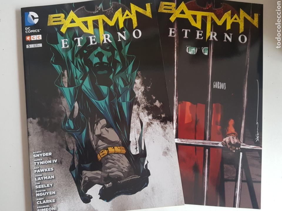 BATMAN ETERNO NUMEROS 4 Y 5 DC COMICS (Tebeos y Comics - Comics otras Editoriales Actuales)