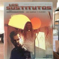 Cómics: LOS SUSTITUTOS: DE CARNE Y HUESO. ROBERT VENDITTI, BRETT WELDELE. GLÉNAT. Lote 166032918
