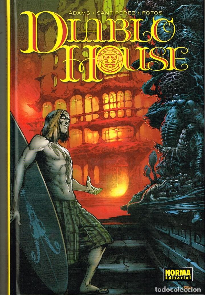 DIABLO HOUSE. NORMA EDITORIAL (Tebeos y Comics Pendientes de Clasificar)