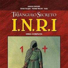 Cómics: EL TRIANGULO SECRETO I.N.R.I. INTEGRAL - GLENAT - CARTONE - MUY BUEN ESTADO - OFI15J. Lote 221389331