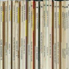 Cómics: LUCKY LUKE - ED. JUNIOR Y GRIJALBO-DARGAUD - 56 ALBUMES, COLECCION COMPLETA EN 1ª EDICION, VER DESCR. Lote 166126574