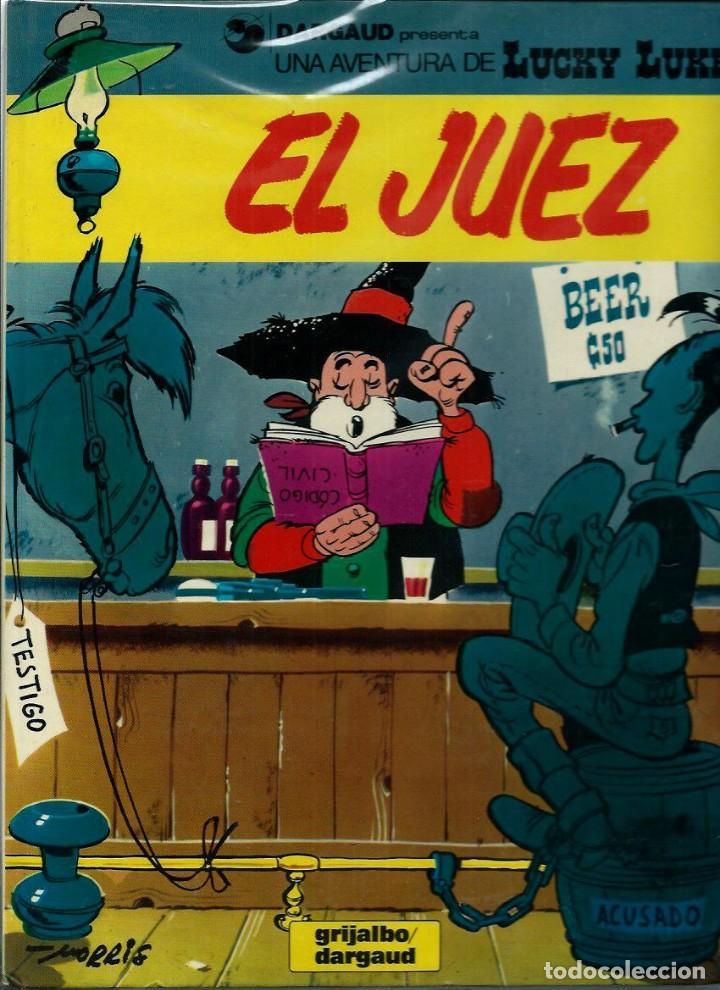 Cómics: LUCKY LUKE - ED. JUNIOR Y GRIJALBO-DARGAUD - 56 ALBUMES, COLECCION COMPLETA EN 1ª EDICION, VER DESCR - Foto 16 - 166126574
