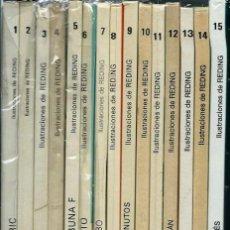 Cómics: ERIC CASTEL - EDICIONES JUNIOR - 15 ALBUMES - COLECCION COMPLETA EN 1ª EDICION - EN BUEN ESTADO. Lote 166145758