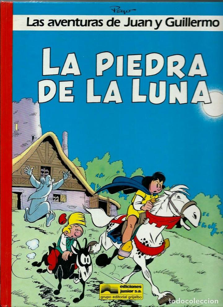 Cómics: PEYO - AVENTURAS DE JUAN Y GUILLERMO - ED JUNIOR 1986, 4 ALBUMES, COLECCION COMPLETA - VER DESCRIPC. - Foto 2 - 166147074