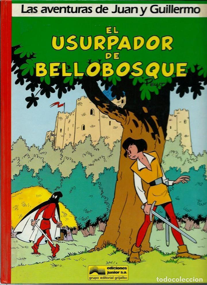 Cómics: PEYO - AVENTURAS DE JUAN Y GUILLERMO - ED JUNIOR 1986, 4 ALBUMES, COLECCION COMPLETA - VER DESCRIPC. - Foto 4 - 166147074