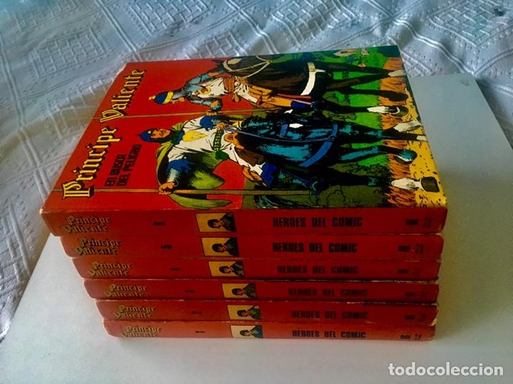 Cómics: PRINCIPE VALIENTE. Héroes del cómic. BURU LAN. Colección completa 8 tomos - Foto 3 - 149757316