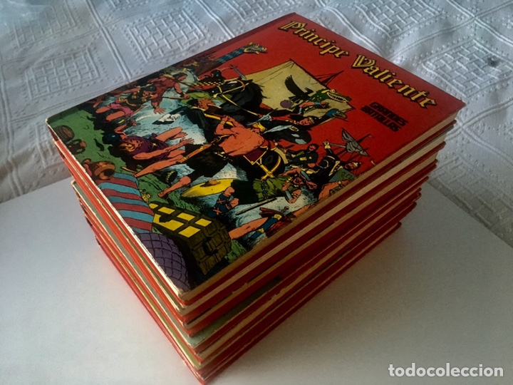 Cómics: PRINCIPE VALIENTE. Héroes del cómic. BURU LAN. Colección completa 8 tomos - Foto 2 - 149757316