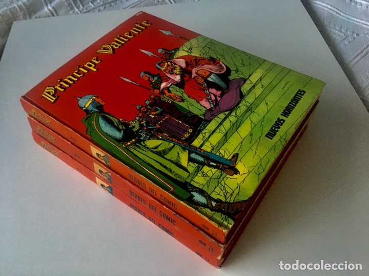 Cómics: PRINCIPE VALIENTE. Héroes del cómic. BURU LAN. Colección completa 8 tomos - Foto 6 - 149757316